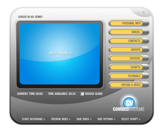 Graphical User Interface Design